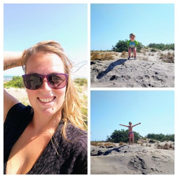montage dunes